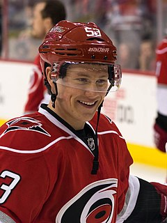 Jeff Skinner Canadian ice hockey player