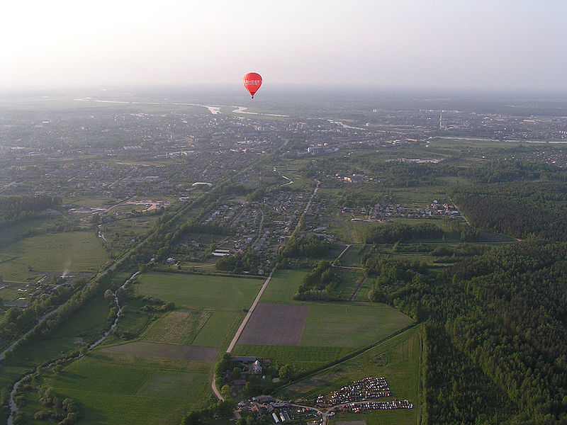 File:Jelgava Aerial View from south - panoramio.jpg
