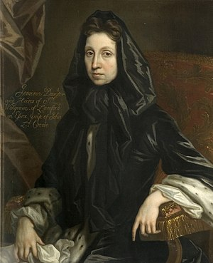 John Crew, 1st Baron Crew - John Crew married Jemima Waldegrave (pictured), with whom he had several children.