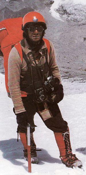 Jerzy Kukuczka - Jerzy Kukuczka on Mount Everest, 1980