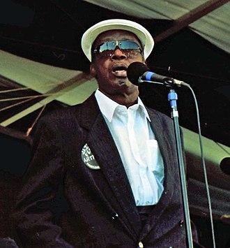 Jessie Hill - Jessie Hill at New Orleans Jazz & Heritage Festival, 1996.
