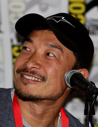 Jim Lee - Lee at the San Diego Comic Con 2009