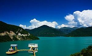 Zhinvali - Zhinvali reservoir