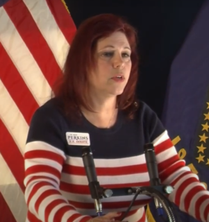 Jo Rae Perkins American conspiracy theorist and perennial candidate