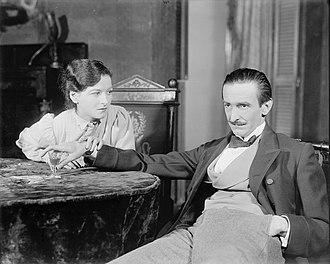 Joanna Roos - Image: Joanna Roos and James Ripley Osgood Perkins seated Uncle Vanya, 1930