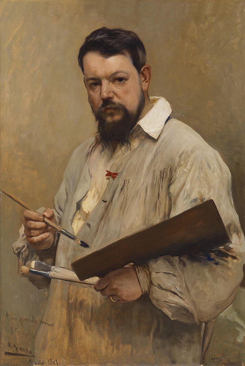 Хосе Хименес Аранда. Портрет Хоакина Сорольи, 1901