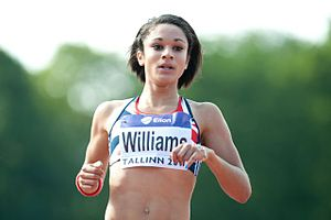 2009 World Youth Championships in Athletics - Jodie Williams won a 100/200 m sprint double for Great Britain.
