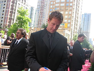 Joe Thornton - Joe Thornton at the 2006 NHL Awards ceremony