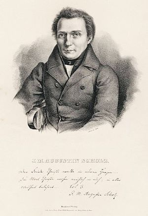 Johann Martin Augustin Scholz - Image: Johann Martin Augustin Scholz (2)
