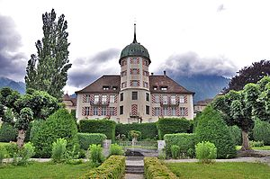 Zizers - The St. Johannesstift or Lower Castle Zizers
