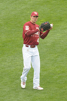 A man in a baseball uniform with the word Giants on the front