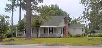 National Register of Historic Places listings in Bladen County, North Carolina - Image: John Hector Clark House Aug 11