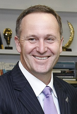 New Zealand National Party leadership election, 2006 - Image: John Key by UNDP