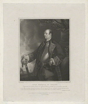 William Bond (engraver) - Image: John Manners, Marquess of Granby by William Bond