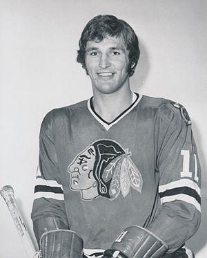 John Marks (ice hockey) - Marks in 1973