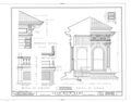 John Muir House, Alhambra Boulevard, Martinez, Contra Costa County, CA HABS CAL,7-MART,1- (sheet 10 of 13).png