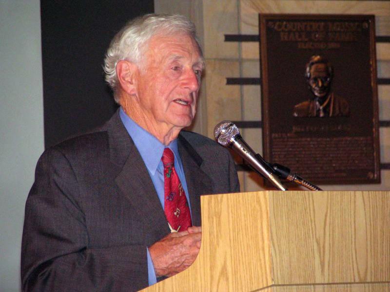 John Seigenthaler Sr. speaking
