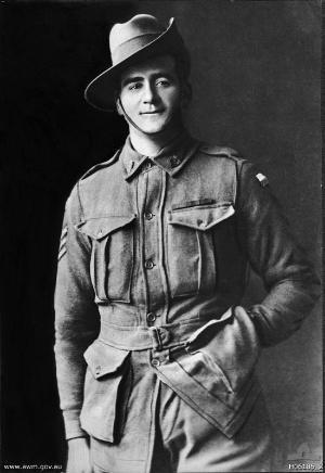 John Whittle - Sergeant John Whittle c. 1918