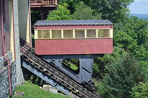 Johnstown Inclined Plane - Side view