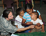 Joint Task Force-Bravo's Medical Element provides care to nearly 1,000 in Honduran village 140425-Z-BZ170-009.jpg