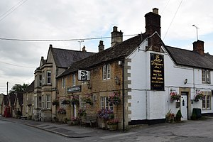 Kington St Michael - Jolly Huntsman inn, Kington St Michael