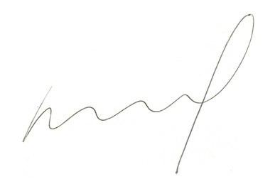 Joop den Uyl's signature