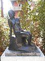Josep Dunyach, Figura femenina asseguda, 1928.jpg