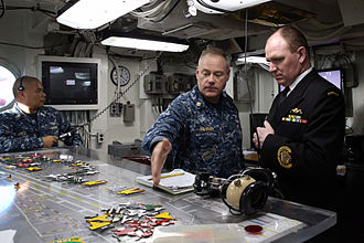 Martin Holzberger - Holzeberger visits the USS George Washington