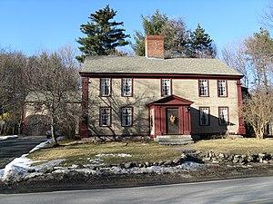 Joseph Hosmer House - Image: Joseph Hosmer House, Concord MA
