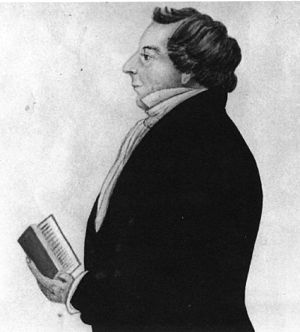 Bathsheba W. Smith - Profile of Joseph Smith, Jr. (circa 1843) drawing by Bathsheba W. Smith