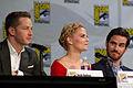 Josh Dallas, Jennifer Morrison & Colin O'Donoghue (14775591298).jpg