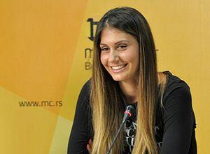 Jovana Jakšić - Jakšić in 2013