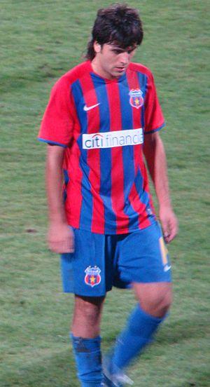 Juan Toja - Toja playing for Steaua