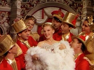 Till the Clouds Roll By - Judy Garland as Marilyn Miller in a scene based on the musical Sunny