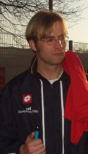 Jürgen Klopp - Klopp with Mainz 05 in 2004