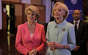 Julie Bishop - Bishop and Quentin Bryce, 2013