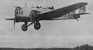Junkers K.37 flight photo NACA Aircraft Circular No.104.jpg