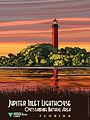 Jupiter Inlet Lighthouse Outstanding Natural Area in Florida - Poster (18858824315).jpg