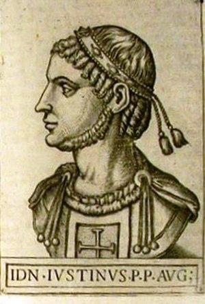 Il Giustino - Late 16th-century depiction of Emperor Justin I, the opera's protagonist