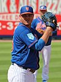 Justin Wilson pitching for the Mets, March 2, 2019 (cropped).jpg