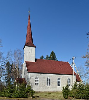 Käru - Image: Käru kirik