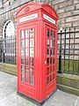 K2 telephone booth on Exchange Street West, Liverpool.JPG