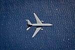 KC-10 Extender flies over the Atlantic Ocean (25932507682).jpg