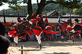 KOCIS Martial artists perform at Suwon Haenggung Palace (5433217994).jpg