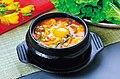 KOCIS sundubu-jjigae, Spicy Soft Tofu Stew (4556151465).jpg