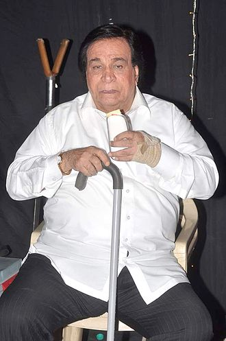 Kader Khan - Khan in 2012