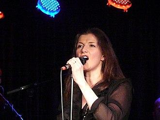 Kaija Kärkinen - Kaija Kärkinen during her concert in Mikkeli.
