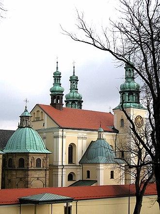 Kalwaria Zebrzydowska park - Image: Kalwaria Zebrzydowska klasztor