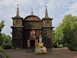 Kampinos Village in Masovian Voivodeship, Poland