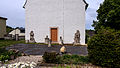 Kamsdorf Friedhof Großkamsdorf mit Grabsteinen und Einfriedung.jpg